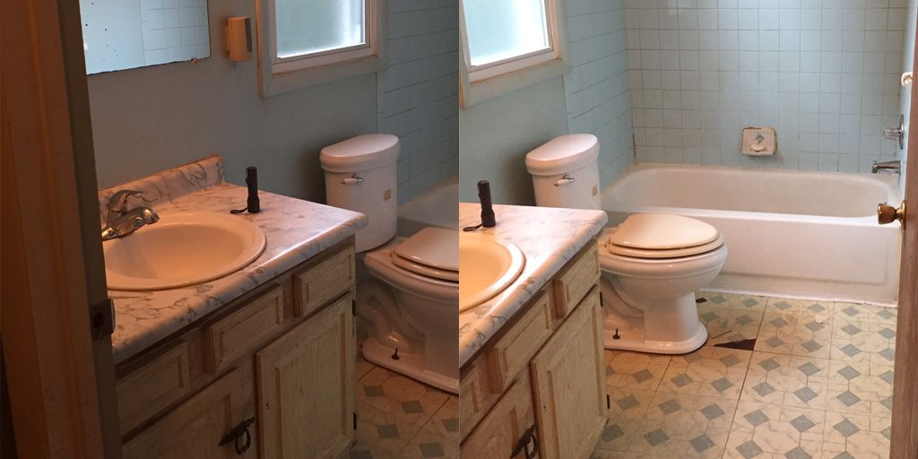 70s Bathroom Remodel Into The 21st Century Farmington